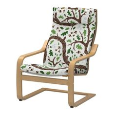 I just bought this chair with this cover, but with the dark brown woods! Can't wait to put it together