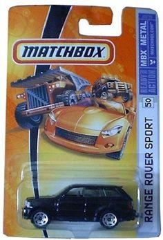 2006 Matchbox 2005 Range Rover Sport Black #50/75 by Mattel. $19.44