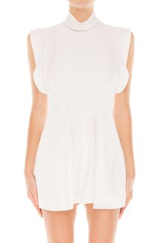 Finders Keepers EVOLUTION PLAYSUIT WHITE - BNKR