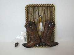 Single Light Switch Cover, Cowboy Boots, Western Decor | eBay