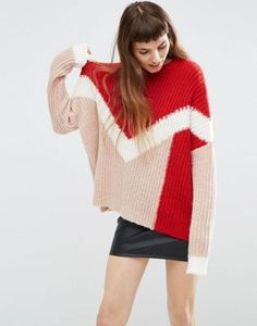 Search for asos chunky sweater at ASOS. Shop from over styles, including asos chunky sweater. Discover the latest women's and men's fashion online Mens Fashion Sweaters, Knitwear Fashion, Knit Fashion, Sweaters For Women, Asos, Unique Outfits, New Outfits, Fashion Outfits, How To Purl Knit
