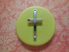 craft mold jewelry mold charms porcelain food mold fondant Faith Pendant Mold resin clays mold pop up mold flexible silicone mold