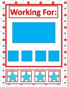 Free Behavior Management Task. Great for students with Autism or students needing a Behavior Support. This is a great visual support for those kiddos who need the extra behavior management.