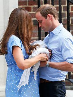 The Duke, Duchess, and Prince of Cambridge