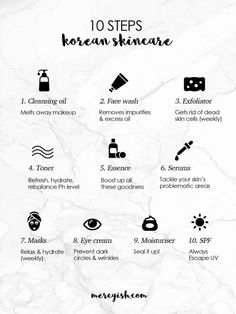 My Current 10 Step Korean Skincare Routine! #BeautyPassport