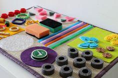 DIY senzorický Stimulační koberec