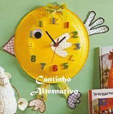 30 Beautiful Image of Paper Plate Clock Craft Paper Plate Crafts For Kids, Easter Crafts For Kids, Paper Crafts, Recycled Crafts, Diy And Crafts, Arts And Crafts, Art Drawings For Kids, Art For Kids, Clock Craft