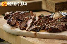 BEEFER GRILL - t bone steak on grill
