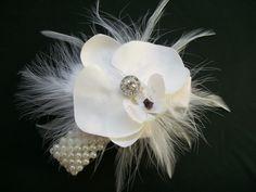 Phalaenopsis Orchid Wrist Corsages, Prom or Wedding - Custom Order - Indigo Daisy Weddings