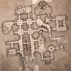 Small Dungeon Level. by billiambabble.deviantart.com on @deviantART