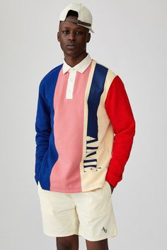 For Spring/Summer Aimé Leon Dore finds a way to mix throwback flavor with new age trends that make for one extensive-yet-dope range of apparel. Mode Streetwear, Streetwear Fashion, New Era Yankees, Ls Logo, Sport Fashion, Mens Fashion, Daily Fashion, Fashion Photo, Fashion Online
