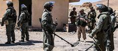 Russian Bomb Disposal Unit On The Way To De-Mine Aleppo