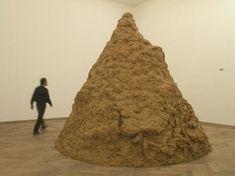 Clay Mountain, 2004  Damian Ortega Damian Ortega, Hirst, Sculpture Clay, Ceramic Clay, Modern Art, Mountain, Inspiration, Mud, Sculpture