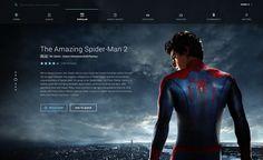 Movie UI by Vivek Venkatraman