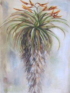 Aloe 1 by Janet Dirksen Aloa Vera, Aloe Oil, Flower Art, Art Flowers, Watercolor Paintings, Pastel Paintings, Desert Art, Cactus Art, Cacti And Succulents