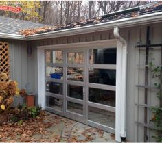 16 best modern glass garage doors images on pinterest glass garage check out this awesome glass aluminum door installed by overhead door company of cortland in new york the home owners wanted to be able to close off their solutioingenieria Image collections
