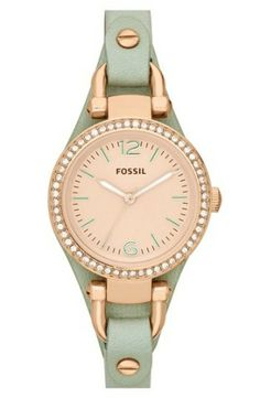 Isn't this MINT watch fabulous? Gorgeous.