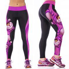 Stylové dámské sportovní fitness legíny – SLEVA 60% A POŠTOVNÉ ZDARMA Na  tento produkt se 2eb9925679