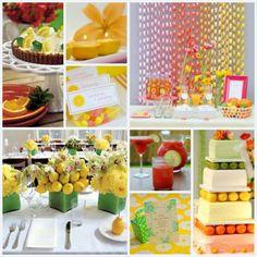 Citrus theme party