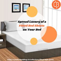 The process of choosing the best bed sheets a very confusing task for everyone. Many aspects need to know when you shopping the bed sheets, such as the size, type, texture, and color of the desire bed sheets. So, if you want to buy deep pocket fitted bed sheets then choose an online store comfort Beddings India. We manufacture top-quality fitted sheets at affordable rates. King Size Bed Sheets, Double Bed Sheets, Best Bed Sheets, Fitted Bed Sheets, Yellow Bedding, Black Bedding, Most Comfortable Sheets, Ruffle Duvet, Bed Sheets Online