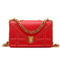 e215502a4c  78 - Shipping Worldwide - Eldora Genuine Leather Shoulder Bag Red 76399  Women s Handbags