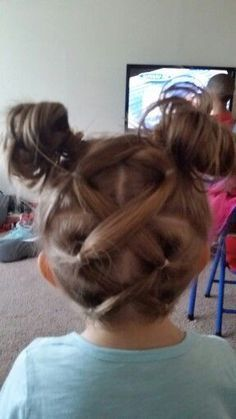 awesome Simple easy hairstyle for little girls... by http://www.top-hair-cuts-and-hair-styles.xyz/hairstyles-for-little-girls/simple-easy-hairstyle-for-little-girls/