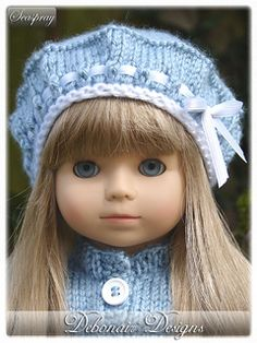 """18"""" American Girl Dolls with 13"""" (33cm) Head Circumference"""