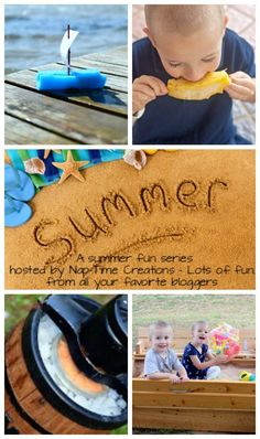 Summer Fun Series with loads of fun summer ideas for kids.