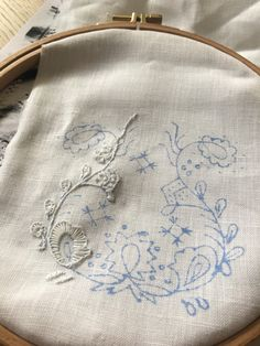 Skjorte – En bunad blir til Hand Embroidery Stitches, Traditional Outfits, Henna, Om, Sewing, Crafts, Norway, Clothes, Magic