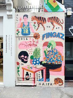 Pin by darren weir on street art in 2019 illustration art, s Art Inspo, Kunst Inspo, Inspiration Art, Art And Illustration, Illustrations, Street Art Graffiti, Graffiti Images, Murals Street Art, Art Et Design