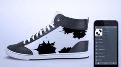 Tecnoneo: Las zapatillas de deporte de tinta electrónica ShiftWear se pueden personalizar con un Smartphone