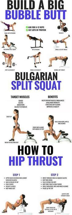 Who doesnt want a perfectly shaped gravity defying butt? Brazilian butt workouts are strength training exercises that focus on the area surrounding your glutes. These muscles include the large gluteus maximus the gluteus medius and the gluteus minimus Strength Training Workouts, Training Exercises, Workout Exercises, Fitness Exercises, Gluteus Workout, Arm Exercises, Glutes Workout Men, Glute Activation Exercises, Female Fitness Workouts