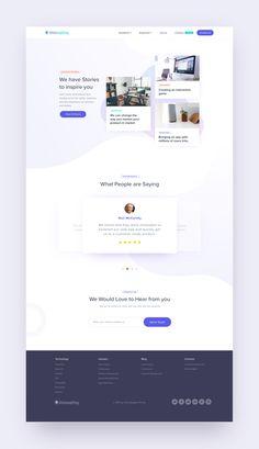 jpg by Harsh Vijay - Pony Frisur Web Design Examples, Creative Web Design, Web Ui Design, Web Design Trends, Responsive Web Design, Page Design, Website Design Layout, Web Layout, Layout Design