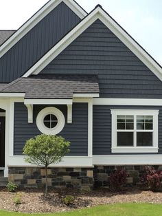 Pacific Blue Siding Love This Color With White Trim