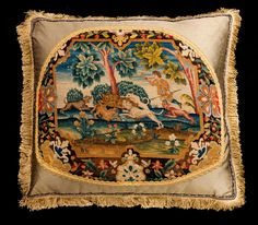 Cushion: Early 18th Century, Wool (Ref No. 5570a) - Windsor House Antiques