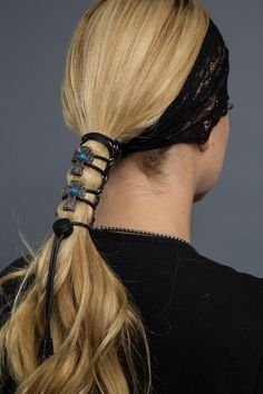 Vintage Cross Laced-up Hair Glove