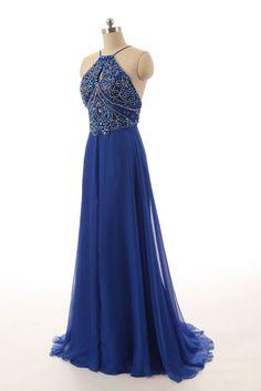 Blue Prom Dress, Prom Dresses, Graduation Party Dresses, Formal Dress For Teens, BPD0181
