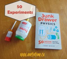 Junk Drawer Physics - A Net in Time.  Learn the essentials of physics in a fun way!