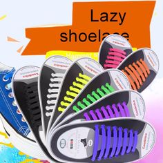 Shoelaces Easy No Tie Elastic Shoe Lace Silicone Trainers Shoes Adult Kids C New Sneakers, Adidas Sneakers, Elastic Shoe Laces, Kids C, Tie Shoelaces, Lace Outfit, Diy Electronics, Shoe Storage, Vintage Shoes