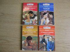4 x Claudia Jameson Mills & Boon Romance Novels: TITLES: 1. The Frenchman's Kiss
