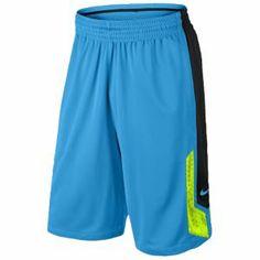 Nike KD Precision Moves Shorts - Men's - Vivid Blue/Black/Volt