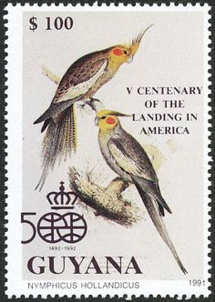 Cockatiel stamps - mainly images - gallery format