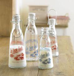 French Milk Bottles