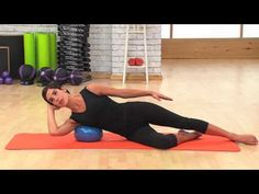 Mini Stability Ball™ - Focus on Breathing & Muscular Release - YouTube