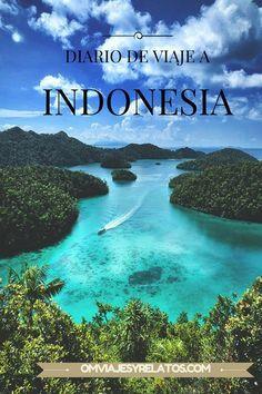 Diario de nuestras rutas y viajes por Indonesia con datos prácticos.