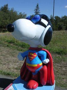 Super Snoopy in Santa Rosa