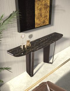 Green Marble, Black Marble, Calacatta Gold Marble, Dover White, Walnut Stain, Console Table, Bright Pink, Sideboard, Sim