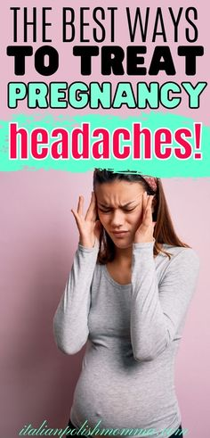 Natural pregnancy headache remedies that work! Here are 9 home remedies for pregnancy headaches that helped this mom of 4 get rid of her headaches during pregnancy and finally get some rest! Trimesters Of Pregnancy, Pregnancy Stages, First Pregnancy, Remedies For Nausea, Headache Remedies, Pregnancy Checklist, Pregnancy Advice, Pregnancy Weight Gain, Pregnancy Health