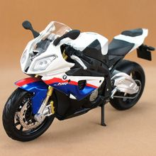 Brand New Maisto 1/12 Scale S1000RR Super Motorcycle Diecast Metal Motorbike Model Toy For Gift New In Box(China (Mainland))