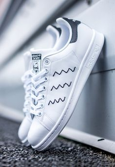 Adidas Stan Smith Black Zig Zag